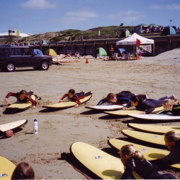 Go Ride A Wave - Surfing Day with Seniors