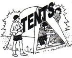 guides in tents